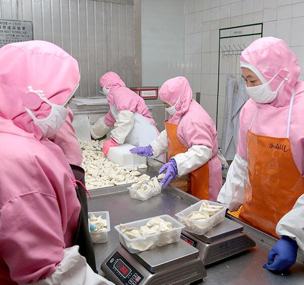 惠美饺子产品保证食品安全