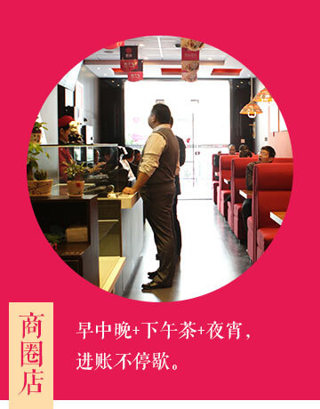 惠美饺子加盟选址之商圈店