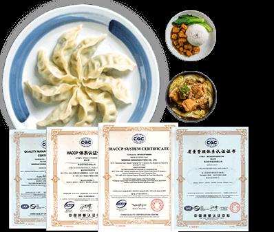 惠美饺子加盟精选食材