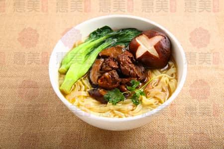 惠美饺子香菇鸡块面