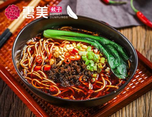 惠美饺子美食推荐-重庆小面