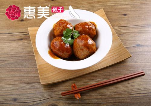 惠美饺子美食推荐-红烧狮子头