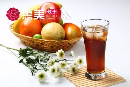 惠美饺子美食推荐-秘制酸梅汁