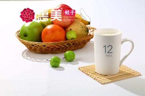 惠美饺子美食推荐-甜豆浆