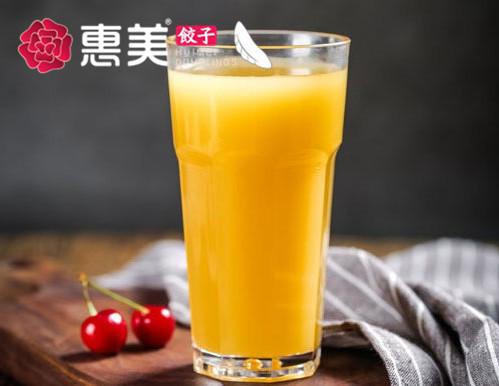 惠美饺子美食-进口芒果汁
