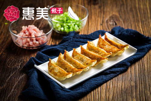 惠美饺子美食推荐-肉三鲜煎饺