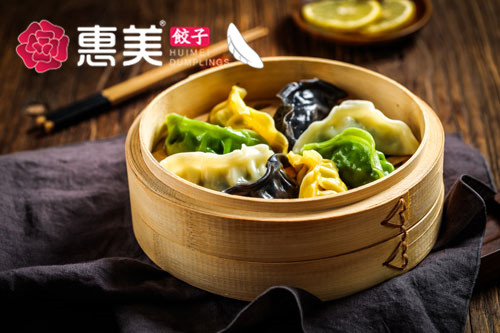 惠美饺子美食推荐-五彩全家福蒸饺