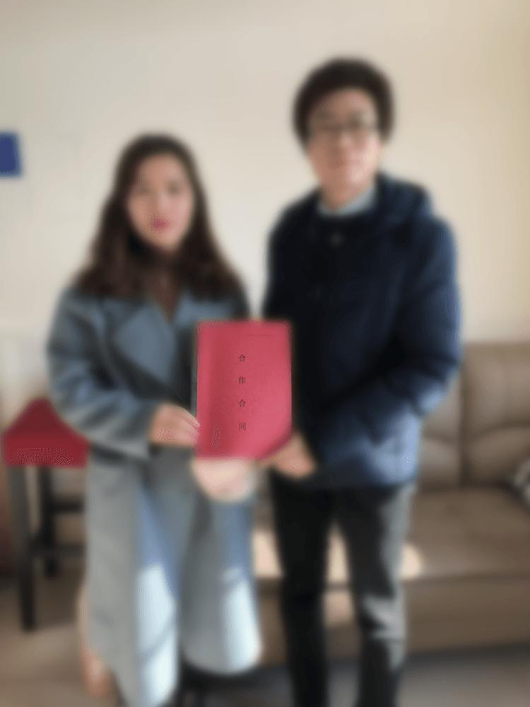 惠美饺子加盟签约合影(一)