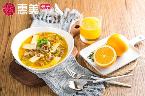 惠美饺子美食推荐-金汤菌菇肥牛