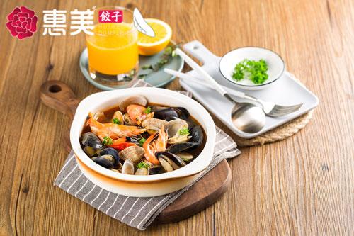惠美饺子美食推荐-麻辣鲜蛤