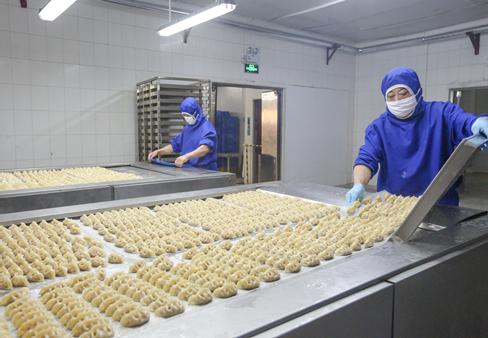 惠美鱼水饺生产过程