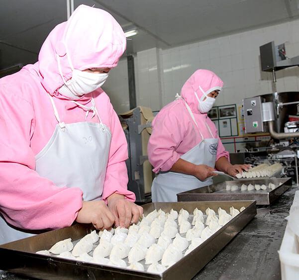 饺子生产员