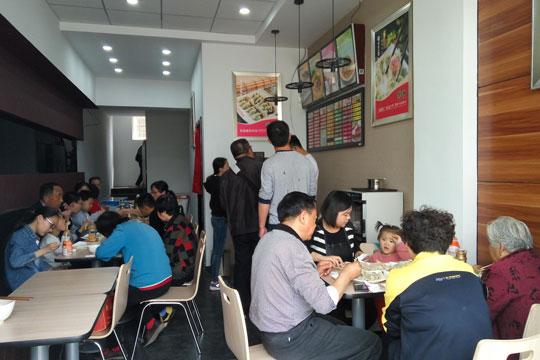 惠美饺子加盟商故事