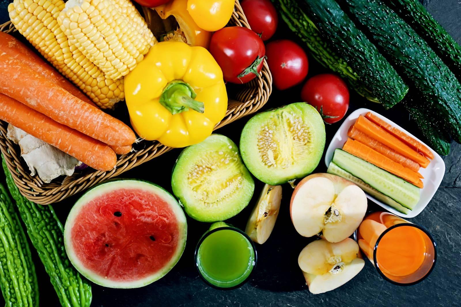 蔬菜水果摄入量不足
