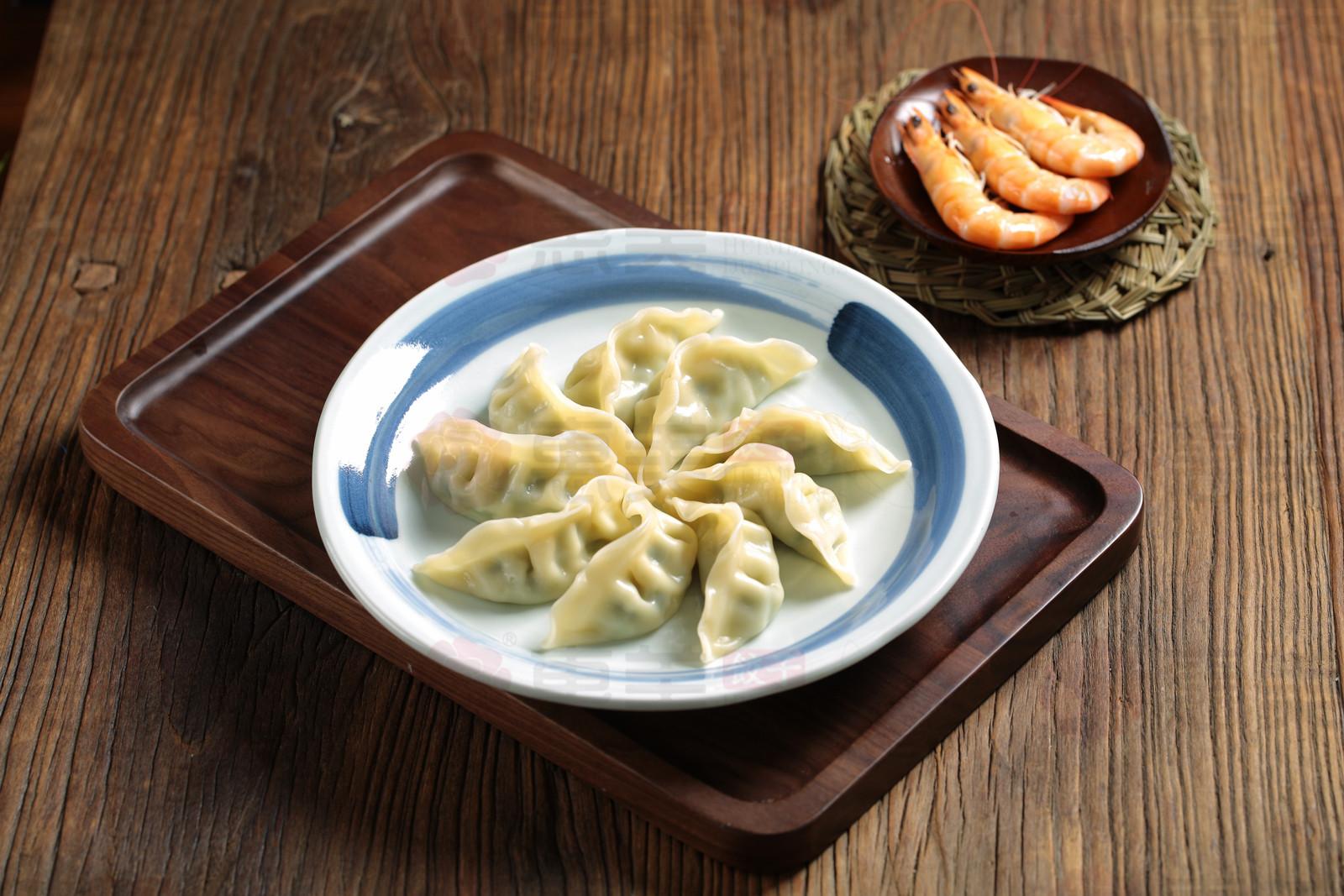 惠美饺子特色美食-虾仁猪肉水饺